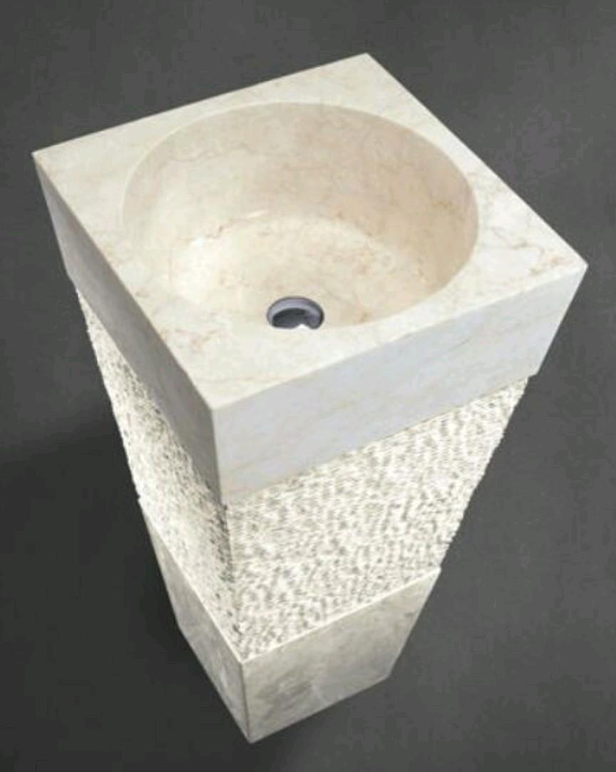 rm white cone wash basinsink for beautiful bathroom design model rm c w 101 - Wash Basin Sink